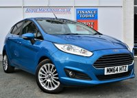 USED 2014 64 FORD FIESTA 1.0 TITANIUM 5d 99 BHP MASSES OF SPEC