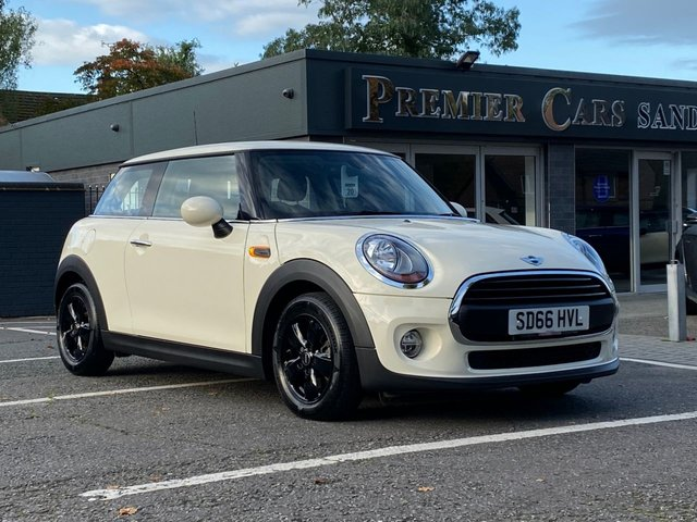 USED 2016 66 MINI HATCH ONE 1.2 ONE 3d 101 BHP