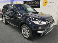 USED 2016 66 LAND ROVER RANGE ROVER SPORT 3.306 SD V6 HSE 4X4 (s/s) 5dr