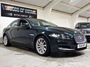2014 JAGUAR XF 3.0 D V6 PREMIUM LUXURY 4d 240 BHP £12980.00
