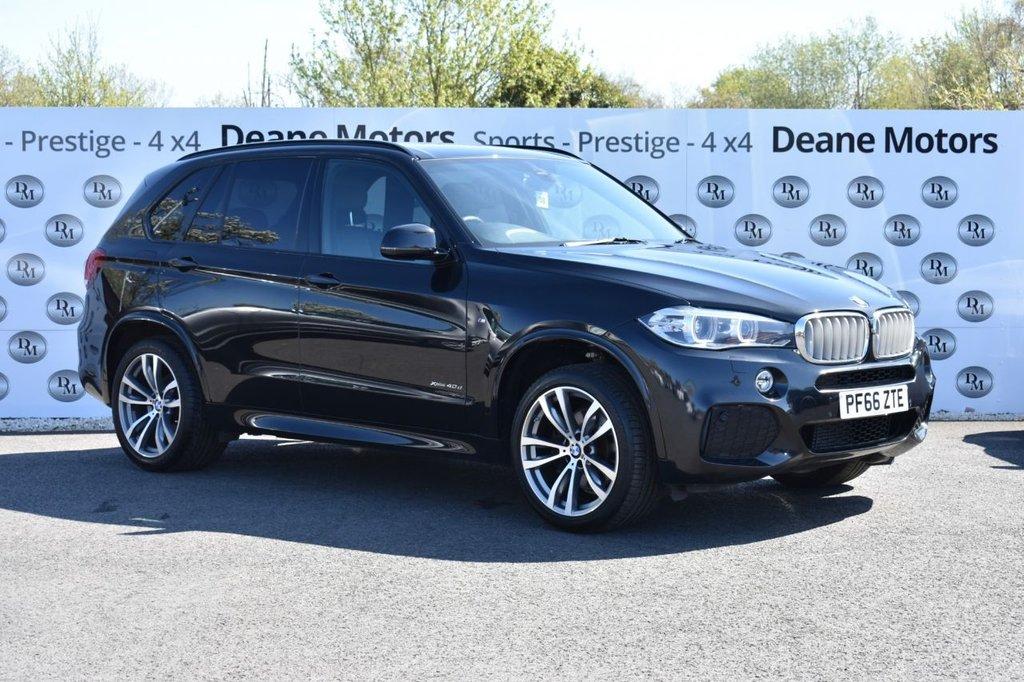 USED 2016 66 BMW X5 3.0 XDRIVE40D M SPORT 5d AUTO 309 BHP 7 STS BIG SPECIFICATION