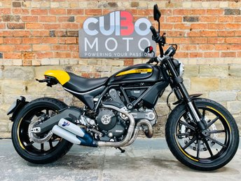 2015 DUCATI SCRAMBLER FULL THROTTLE 803cc £6290.00