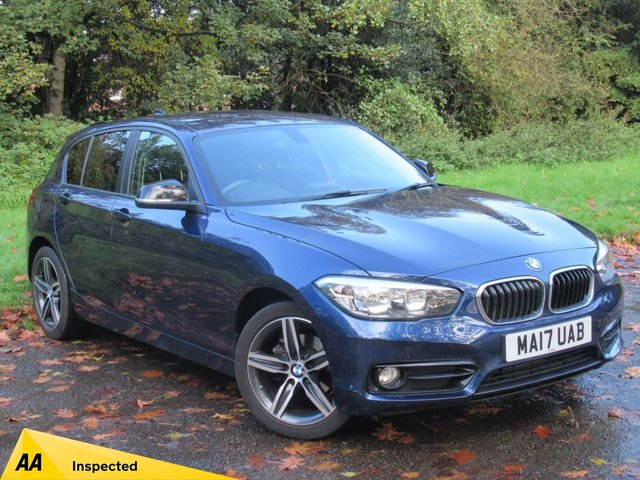 USED 2017 17 BMW 1 SERIES 1.5 116D SPORT 5d 114 BHP JUST BEEN SERVICED, SATELLITE NAVIGATION