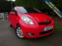 USED 2011 11 TOYOTA YARIS 1.3 T SPIRIT MM VVT-I 5d AUTO 99 BHP