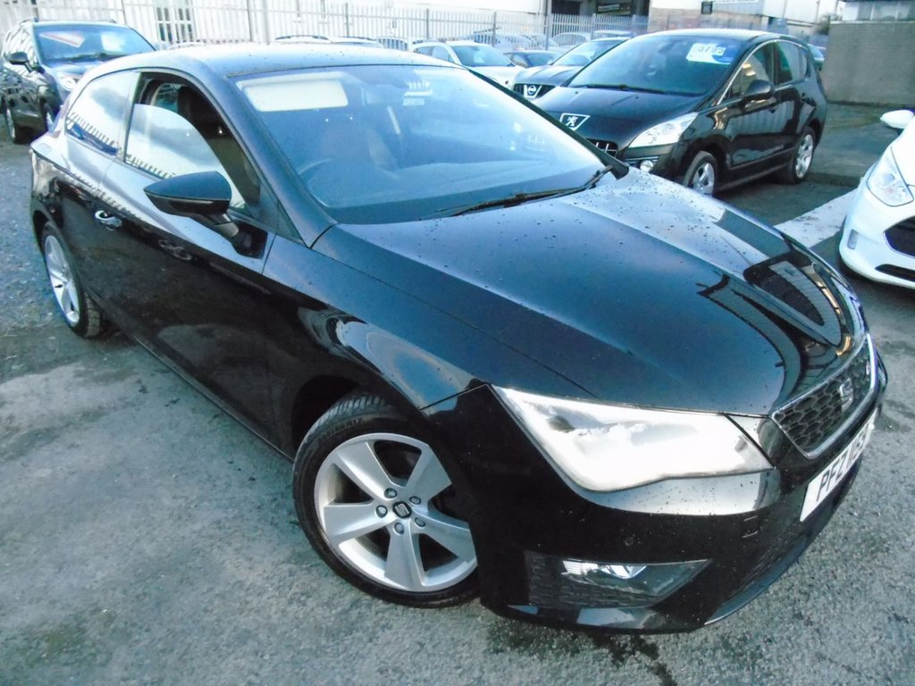 USED 2013 SEAT LEON 1.4 TSI FR 3d 140 BHP £153 a month, T&Cs apply.