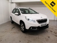 2014 PEUGEOT 2008 1.4 HDI ACTIVE 5d 68 BHP IN METALLIC WHITE WITH ONLY 58000 MILES, FULL SERVICE HISTORY, 2 OWNERS AND A GREAT SPEC £5499.00