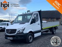 USED 2016 66 MERCEDES-BENZ SPRINTER 2.1 316 CDI 163 BHP LWB 14FT2 DROPSIDE CHASSIS FACELIFT EURO 6, 14FT DROPSIDE, GTW 7000KG, 163 BHP, ONE OWNER, FDSH