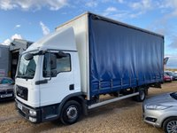2012 MAN TGL 4.6 7.180 4X2 BB C CURTAIN SIDER 180 BHP £7490.00