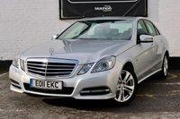 USED 2011 11 MERCEDES-BENZ E CLASS 2.1 E220 CDI BLUEEFFICIENCY AVANTGARDE 4d AUTO 170 BHP