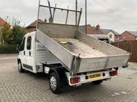 USED 2010 10 FIAT DUCATO 2.3 35 LWB TIPPER WITH REAR AIR SUSPENSION BOXER RELAY Electric Windows Power Steering  Fiat Ducato 2.3 35 LWB TIPPER WITH REAR AIR SUSPENTION Electric Windows Power Steering Remote Central Locking Service history