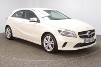USED 2015 65 MERCEDES-BENZ A CLASS 2.1 A 200 D SPORT EXECUTIVE 5DR SAT NAV HEATED LEATHER 1 OWNER 134 BHP FULL SERVICE HISTORY + £30 12 MONTHS ROAD TAX + HEATED LEATHER SEATS + SATELLITE NAVIGATION + REVERSE CAMERA + PARKING SENSOR + BLUETOOTH + CLIMATE CONTROL + MULTI FUNCTION WHEEL + RADIO/CD/AUX/USB + ELECTRIC WINDOWS + ELECTRIC MIRRORS + 17 INCH ALLOY WHEELS