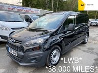 USED 2015 15 FORD TRANSIT CONNECT LWB 1.6 TDCi 210 L2 *38,000 MILES*BLACK*
