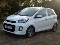 USED 2017 17 KIA PICANTO 1.0 SE ISG 5d 65 BHP www.suffolkcarcentre.co.uk - Located at Ilketshall