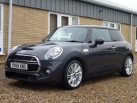 USED 2015 65 MINI HATCH COOPER 2.0 COOPER S 3d 189 BHP www.suffolkcarcentre.co.uk - Located at Reydon