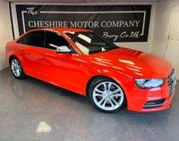 2013 AUDI S4 3.0 S4 QUATTRO 4d AUTO 329 BHP + FULL HISTORY + 2 KEYS £15000.00