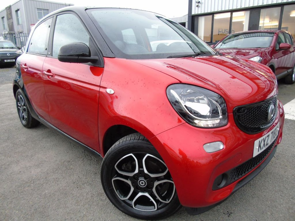 USED 2017 SMART FORFOUR 1.0 PRIME 5d 71 BHP £121 a month, T&Cs apply.