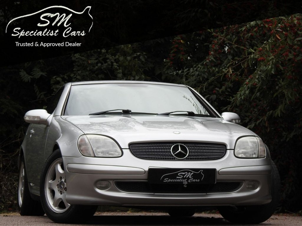 USED 2004 04 MERCEDES-BENZ SLK 2.3 SLK230 KOMPRESSOR 2d AUTO 197 BHP ONLY 65K FROM NEW A/C LEATHER
