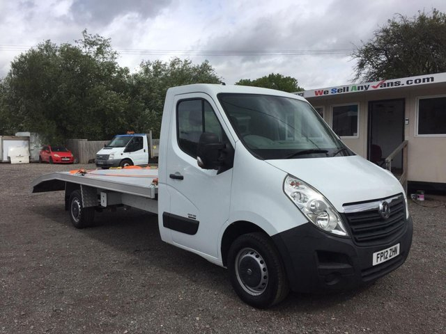 2012 12 VAUXHALL MOVANO 2.3 F3500 L3H1 CDTI LWB LIGHTWEIGHT RECOVERY TRUCK CAR TRANSPORTER 123 BHP