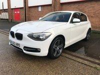 2013 BMW 1 SERIES 1.6 116I SPORT 5d 135 BHP SOLD