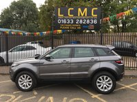"""USED 2016 16 LAND ROVER RANGE ROVER EVOQUE 2.0 TD4 SE TECH 5d AUTO 177 BHP STUNNING CORRIS GREY METALLIC WITH LUNAR/IVORY PERFORATED GRAINED LEATHER UPHOLSTERY. ONE OWNER WITH LAND ROVER SERVICE HISTORY. 18"""" ALLOY WHEELS. SATELLITE NAVIGATION. HEATED SEATS. FRONT AND REAR PARKING SENSORS. CRUISE CONTROL. BLUETOOTH. AUX/USB POINTS. AIR CONDITIONING. ELECTRIC WINDOWS. REMOTE CENTRAL LOCKING WITH TWO KEYS. PLEASE GOTO www.lowcostmotorcompany.co.uk TO VIEW OVER 120 CARS IN STOCK"""