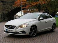 2013 VOLVO S60 2.4 D5 R-DESIGN NAV 4d 212 BHP £7333.00