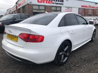 USED 2010 10 AUDI A4 1.8 TFSI S line Special Edition 4dr STUNNING CAR+HISTORY+1 YRS MOT