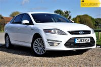 2013 FORD MONDEO 1.6 TD ECO Zetec Business (s/s) 5dr £4990.00
