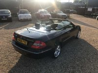 USED 2006 56 MERCEDES-BENZ CLK 1.8 CLK200 Kompressor Avantgarde Cabriolet 2dr Full Leather