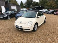 USED 2007 57 VOLKSWAGEN BEETLE 1.6 Luna Cabriolet 2dr Genuine Low Mileage Beetle