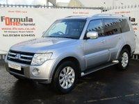2011 MITSUBISHI SHOGUN 3.2 DI-DC Elegance LWB SUV 5dr £12990.00