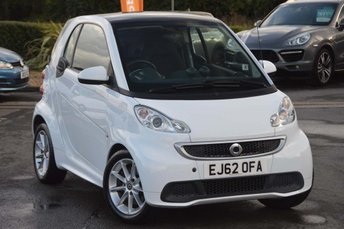 2012 SMART FORTWO 1.0 MHD Passion Softouch 2dr £3990.00