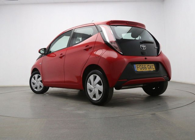 TOYOTA AYGO at Georgesons