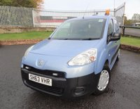 USED 2014 63 PEUGEOT PARTNER 1.6 SE L1 850 ATV HDI 89 BHP 3 Months National Warranty - 1 Years MOT for New Owner