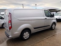 USED 2018 68 FORD TRANSIT CUSTOM 2.0 300 TREND SWB L1 H1 130 BHP AIR CON