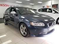 USED 2010 60 VOLVO S40 1.6 D2 R-DESIGN 4d+2 TONE LEATHER HEATED SEATS CLIMATE CONTROL AIR CON ALLOYS SERVICE HISTORY