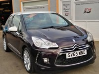 """USED 2015 65 DS DS 3 1.6 BLUEHDI DSTYLE NAV S/S 3d 98 BHP Touchscreen Sat Nav, 17"""" Alloys, 5 Service Stamps, 2 tone paint, stunning car"""