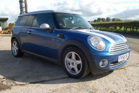 USED 2008 58 MINI CLUBMAN 1.6 COOPER 5d 118 BHP 2008 MINI CLUBMAN 1.6 COOPER 5 DOOR ESTATE 120 BHP FSH NICE CONDITION 6 MONTH WARRANTY 12 MONTH MOT FINANCE AVAILABLE