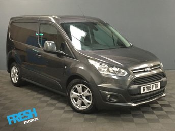 2018 FORD TRANSIT CONNECT 1.5 200 LIMITED L1H1 AUTO  £14885.00