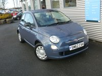 2012 FIAT 500 1.2 POP 3d 69 BHP £4380.00