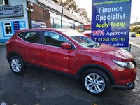 2016 NISSAN QASHQAI 1.5 DCI ACENTA SMART VISION 5d 108 BHP, only 40000 miles £9995.00