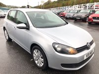 USED 2011 11 VOLKSWAGEN GOLF 1.6 MATCH TDI BLUEMOTION TECHNOLOGY 5d 103 BHP Very economical small diesel hatchback Match edition