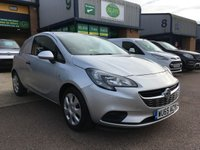 USED 2015 65 VAUXHALL CORSA 1.2 CDTI ECOFLEX S/S 95 BHP FSH, A/C, BLUETOOTH, P/SENSORS, 6 MONTHS WARRANTY & FINANCE ARRANGED. Full service History - 3 Vauxhall Main Agent Services - Last 08/03/2019 @ 34,925 miles, A/C, E/W, Bluetooth, parking sensors, DAB radio, facelift new shape model, driver's airbag, 1 Owner, remote Central Locking, Drivers Airbag, Tailgate, spare key, finance arranged on site & 6 months premium Autoguard warranty.