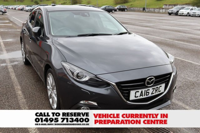 View our 2016 16 MAZDA 3 2.0 SPORT NAV 5d AUTO 118 BHP