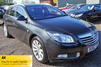 USED 2012 62 VAUXHALL INSIGNIA 2.0 ELITE NAV CDTI 5d AUTO 157 BHP 6 SERVICE STAMPS LAST SERVICED @ 63,260 IN MAY 2019