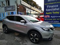 USED 2016 16 NISSAN QASHQAI 1.5 DCI N-TEC PLUS 5d 108 BHP, only 55000 miles ***APPROVED DEALER FOR CAR FINANCE247 AND ZUT0  ***