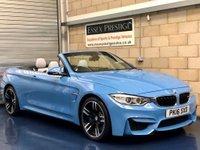 2016 BMW M4 3.0 Convertible 2dr Petrol M DCT (203 g/km, 431 bhp) £31989.00