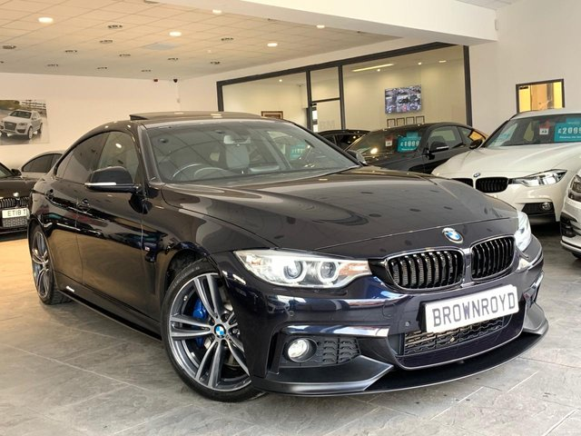 USED 2015 15 BMW 4 SERIES GRAN COUPE 3.0 430D M SPORT GRAN COUPE 4d AUTO 255 BHP BM PERFORMNACE STYLING+PLUS PK