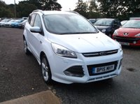 "USED 2015 15 FORD KUGA 2.0 TITANIUM TDCI 5d 148 BHP CAT ""S"" Kuga. Fully Repaired To Manufactures Standard, Long MOT, High Spec!"