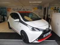 2017 TOYOTA AYGO 1.0 VVT-I X-PRESS 5d 69 BHP