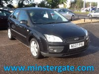 2007 FORD FOCUS 1.6 SPORT 5d 100 BHP * 82000 MILES, 2 OWNERS FROM NEW * £1890.00